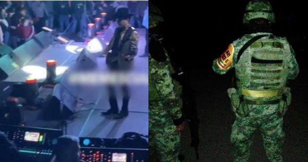 Mas fotografías; Soldados irrumpiendo en El Dorado, Sinaloa a narcoposada de Los Chapitos con auatos para rifar y grupo de fama.