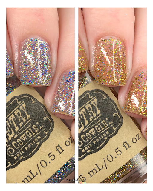Poetry Cowgirl Nail Polish Cowboy Bling Duo