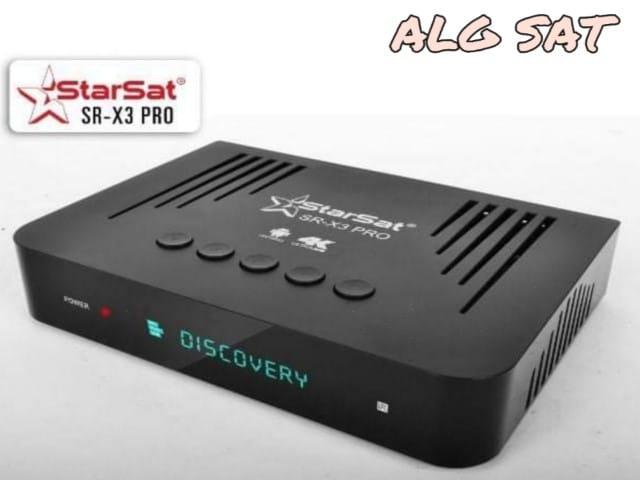 اخر تحديث جهاز  starsat SR- X3 Pro  متجدد دائما