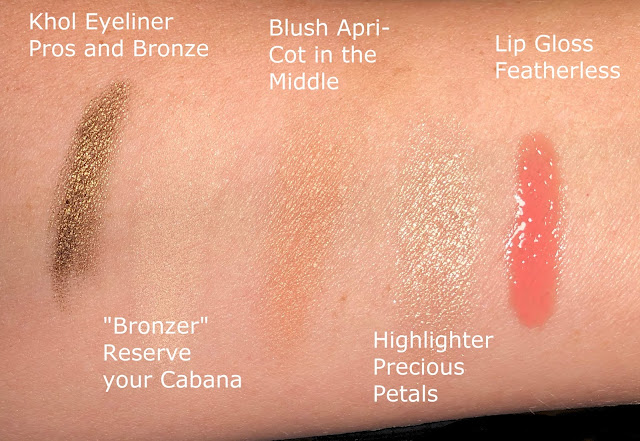 Wet n Wild Swatch Precious Petals Reserve your Cabana Featherless Apri-Cot in the Middle