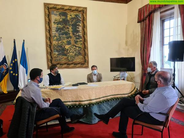 ASPROCAN se reúne con el presidente del Cabildo de La Palma
