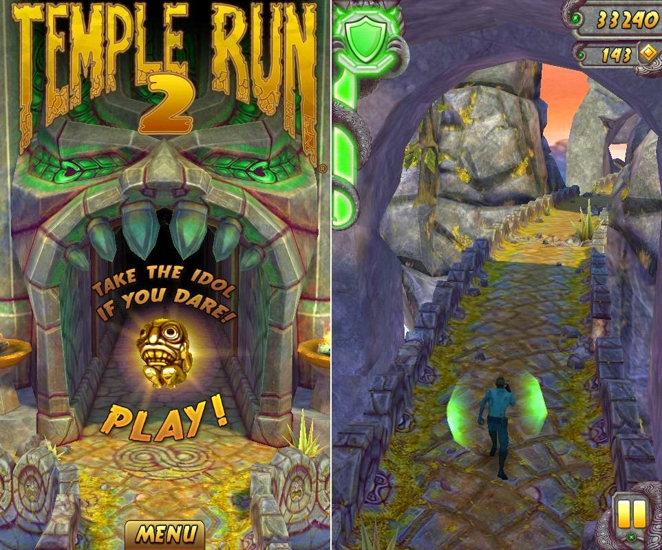 SKK Mobile Griffin Review: Lion and Eagle Temple Run 2