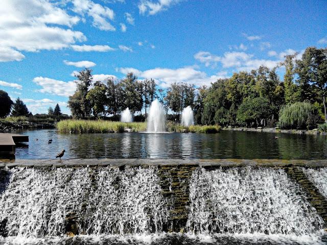 Межигорье водопад