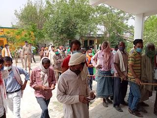 सेक्टर मजिस्ट्रेट डॉ ०शिवाजी की देखरेख में शांतिपूर्ण माहौल में संपन्न हुआ त्रिस्तरीय पंचायत चुनाव