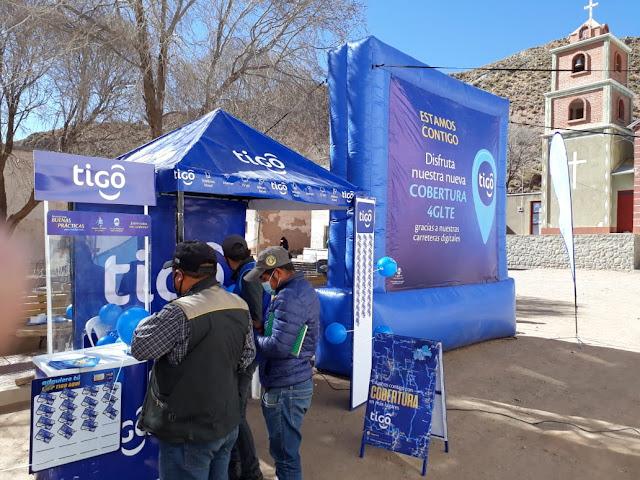 Das Internet ist mit 4 G LTE das schnellste, was Bolivien zu bieten hat.