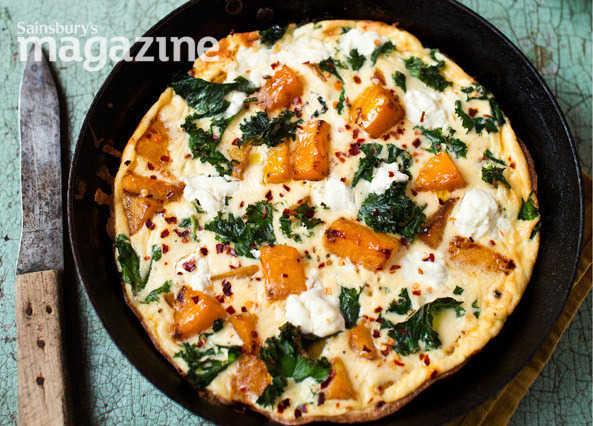 Omelette and Frittata Recipes Compressed_Pumpkinkalegoatscheesefrittatacopy