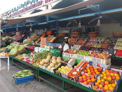 Abu Dhabi mercado frutas