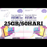 Voucer Axis 25GB/60HARI