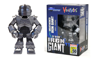 San Diego Comic-Con 2019 Exclusive Iron Giant Weathered Edition Vinimates Vinyl Figure by Diamond Select Toys