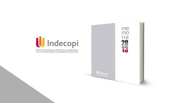 Diseño Memoria Institucional Indecopi 2013