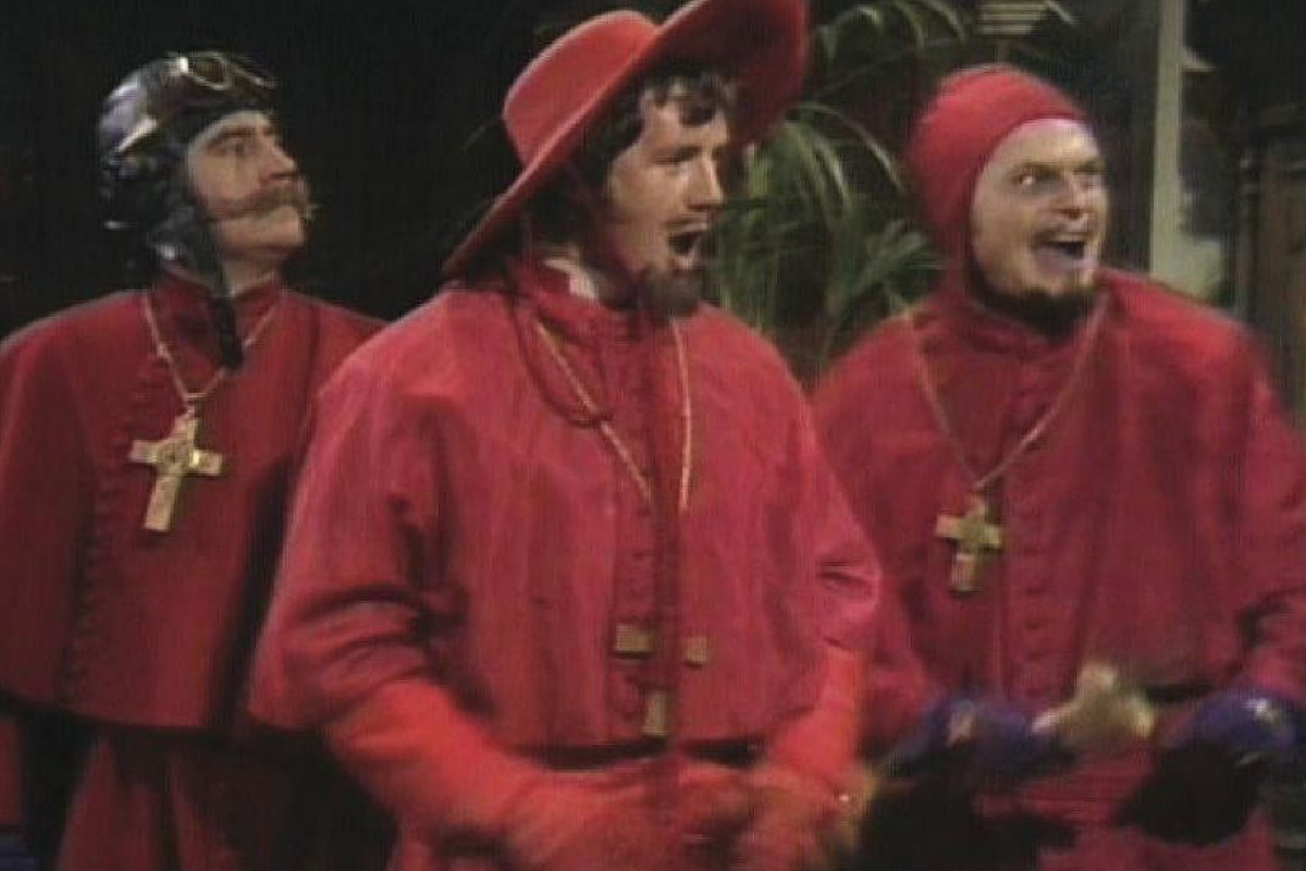 No one expects the Spanish inquisition