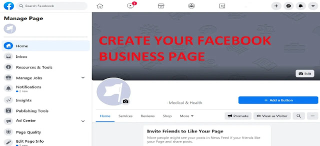 Create Your Business Page Using Facebook