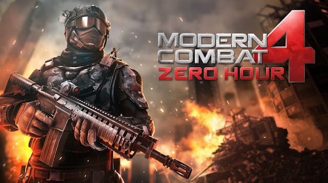 تحميل لعبة modern combat 4  مودرن كومبات 4  MC4 للاندرويد مجانا وبرابط ميديا فاير