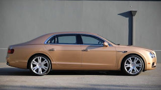 2017 Bentley Flying Spur V-8 Review