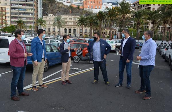 El Cabildo aporta 1,3 millones del FDCAN al proyecto del parking desmontable de Santa Cruz de La Palma
