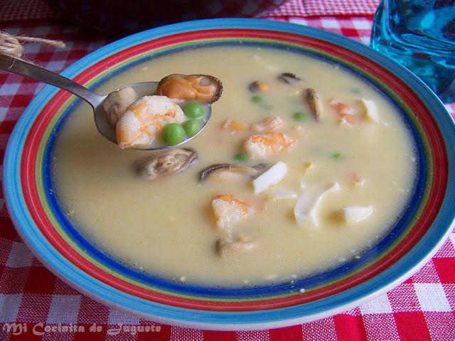 Sopa de Marisco (Sopa Sevillana)