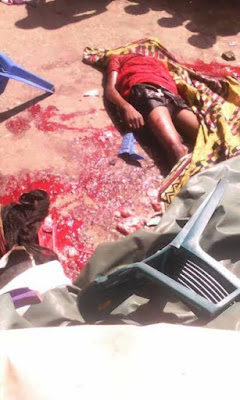 71 - Female Driver Crushes Three Children To Death After Suffering Brake Failure In Abia [Graphic Photos]