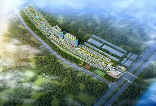 Two big Chinese companies announce joint venture to invest in modern villa project in Cambodia