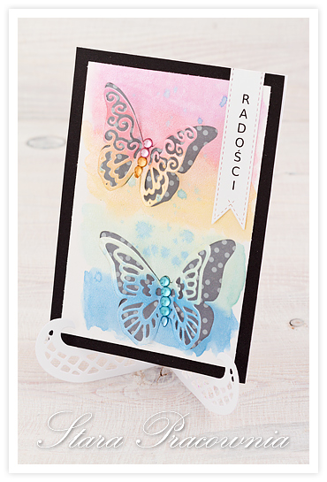 kartki ręcznie robione, kartka ręcznie robiona, kartki z motylkami, scrapbooking, cardmaking,