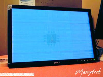 حل مشكلة رعشة الشاشة او الشاشة السوداء