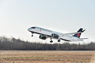 Airbus A220-300, C-GROV, Air Canada