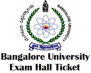 Bangalore University Distance Education Hall Tickets 2017
