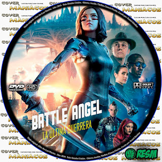 GALLETA - BATTLE ANGEL: LA ULTIMA GUERRERA - ALITA: THE LAST WARRIOR - 2019 [COVER DVD]