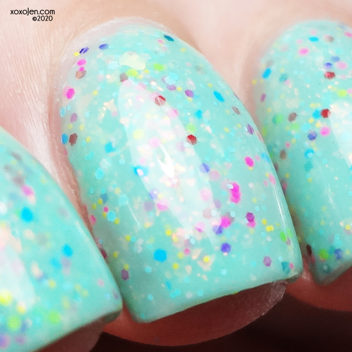 xoxoJen's swatch of Glam The Wilderness Must Be Explored!