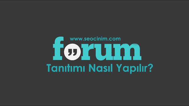 Forum Tanıtımı