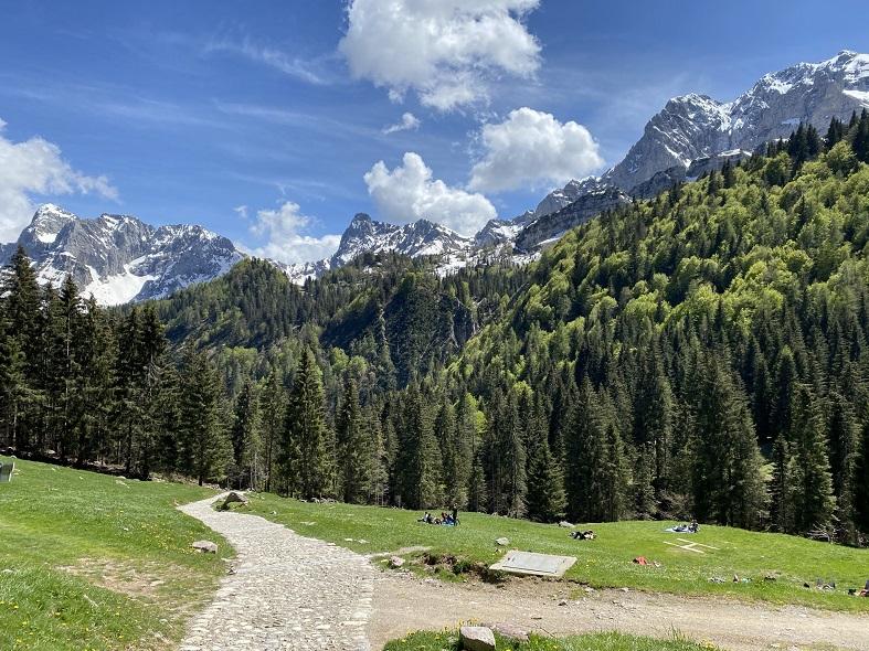 La vista dal Rifugio Alpe Corte