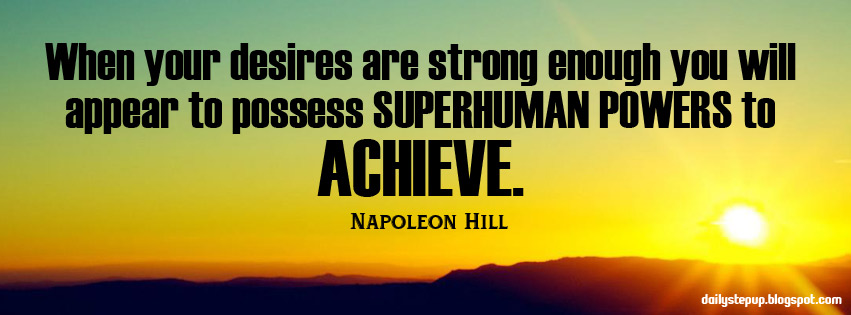 Best Motivational quotes for students: Napoleon Hill Inspirational