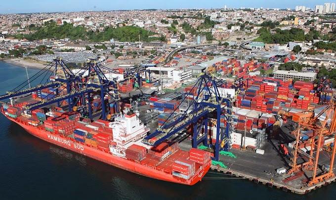 Exportações baianas crescem 27,4% em maio