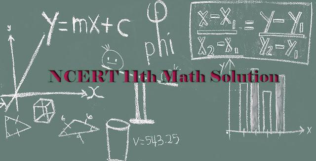 11 maths solution