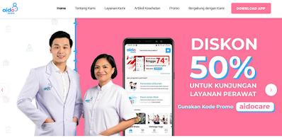 Informasi dan Kelebihan Menggunakan Layanan Dokter ke Rumah Lewat Aplikasi Aido Health