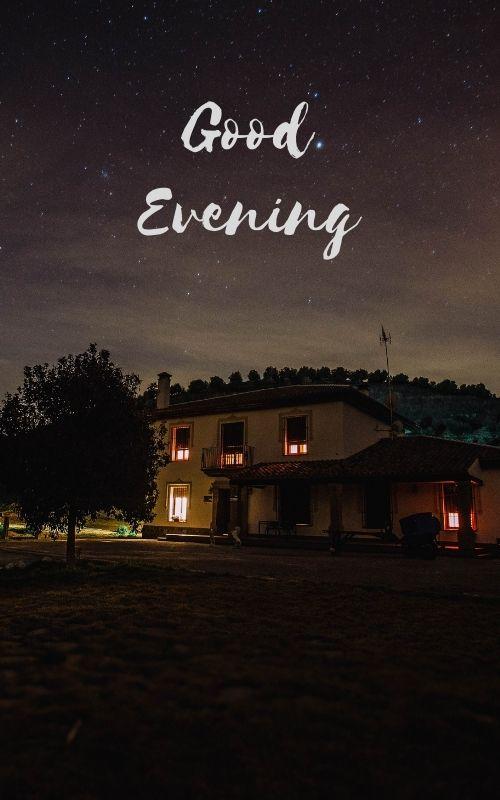 Good Evening Images Cottage