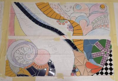 Trittsteine Mosaik
