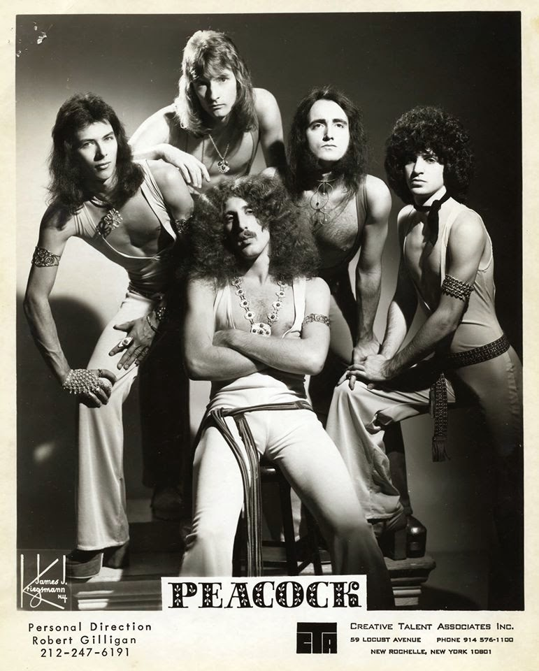 Peacock... with a 19 year old Dee Snider on vocals! Fuckin' Dee!!!