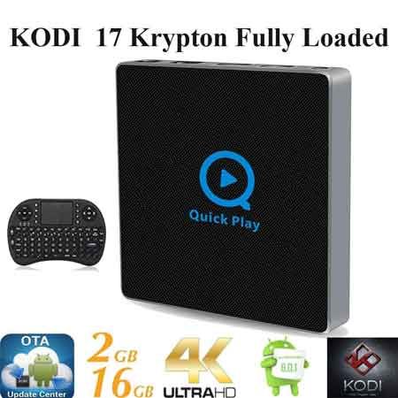 KIKI-TV-Streaming-Player Android 6.0 Marshmallow Fully Loaded Unlocked Rooted XBMC KODI 17 S912 Octa TV BOX