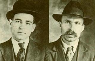 Nicola Sacco (left) and Bartolomeo Vanzetti were key figures in the anarchist movement in Boston