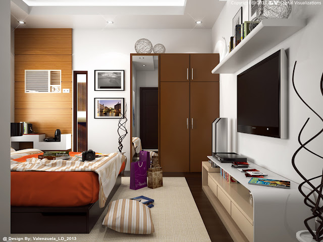 sketchup model bedroom #3 vray 1.49 render_2