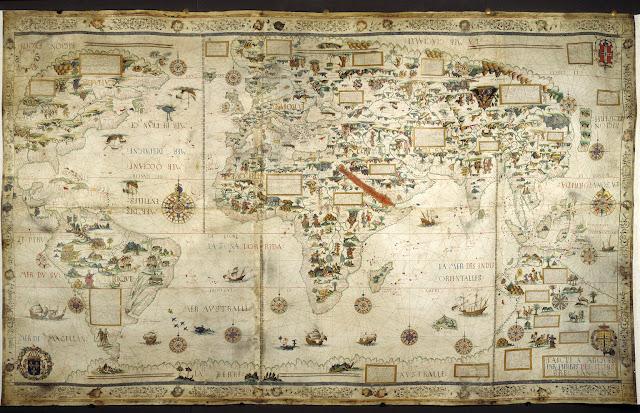 Misteri Sunda Besar Dan Jawa Besar Terungkap, Ternyata Faktanya Seperti Ini... - Peta Dunia