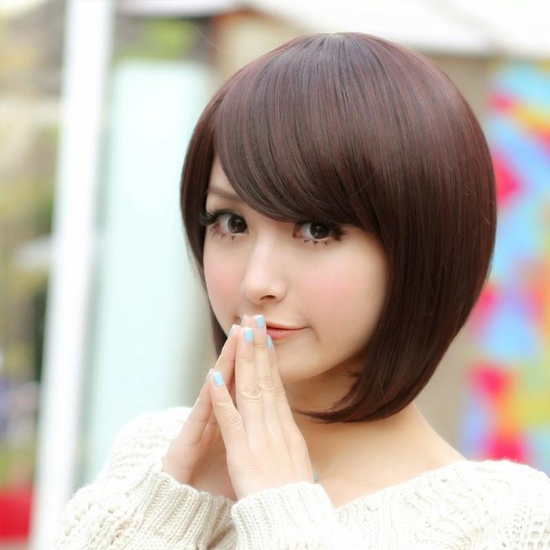 model rambut pendek bob untuk wajah bulat