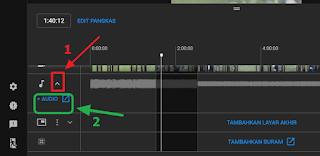 menambahkan musik no copyright ke video youtube tanpa download