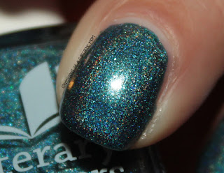 Literary Lacquers Book Club Customs - Sugar, Curiosity and Rain