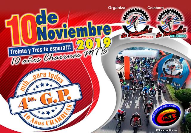MTB - Gran Premio Los Charrúas en Treinta y tres (10/nov/2019)