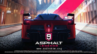 تحميل لعبة Asphalt 9 Legends مهكرة للاندرويد آخر اصدار 1.1.4a مع رابط تحميل مباشر على ميديافير