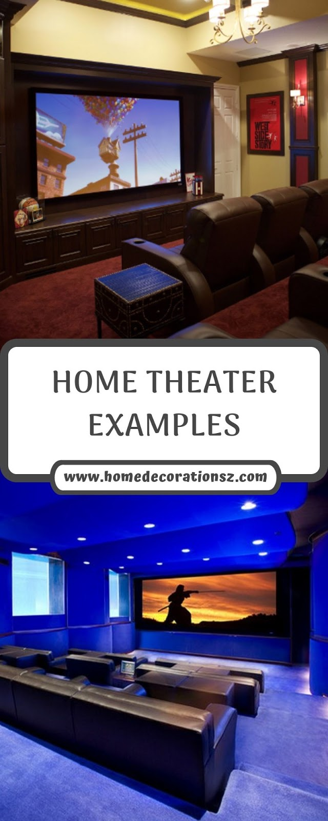 HOME THEATER EXAMPLES