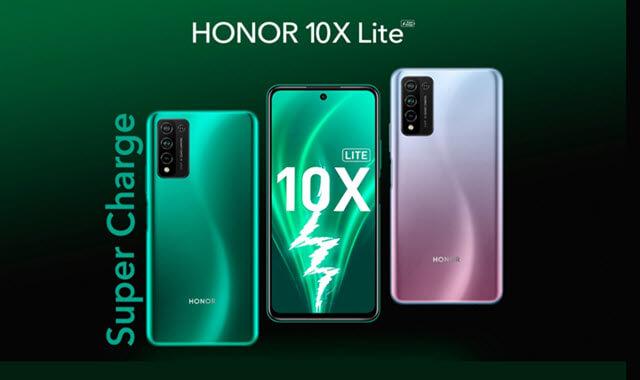 مواصفات وسعر هاتف هونر 10x لايت