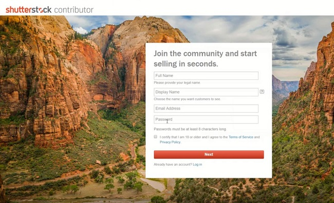 learn how to earn money from shutterstock contributor account