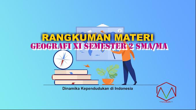 Materi Geografi - Dinamika Kependudukan di Indonesia (Interaksi Desa dan Kota)